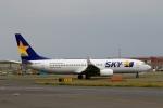 スポット110さんが、羽田空港で撮影したスカイマーク 737-8ALの航空フォト(写真)