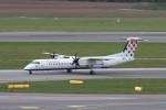 BTYUTAさんが、ウィーン国際空港で撮影したクロアチア航空 DHC-8-402Q Dash 8の航空フォト(写真)