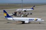 ハピネスさんが、中部国際空港で撮影したスカイマーク 737-8HXの航空フォト(写真)
