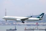 zero1さんが、香港国際空港で撮影したキャセイパシフィック航空 A330-342の航空フォト(写真)