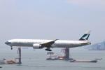 zero1さんが、香港国際空港で撮影したキャセイパシフィック航空 777-367/ERの航空フォト(写真)