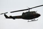 ちゅういちさんが、朝霞駐屯地で撮影した陸上自衛隊 UH-1Jの航空フォト(写真)
