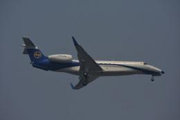 Kilo Indiaさんが、チャトラパティー・シヴァージー国際空港で撮影したラーセン&トゥブロ EMB-135BJ Legacy 650の航空フォト(飛行機 写真・画像)