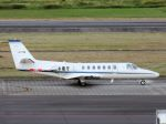 White Pelicanさんが、名古屋飛行場で撮影した中日本航空 560 Citation Vの航空フォト(写真)