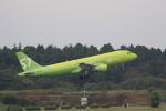 ☆ライダーさんが、成田国際空港で撮影したS7航空 A320-214の航空フォト(写真)