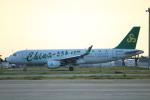 水月さんが、関西国際空港で撮影した春秋航空 A320-214の航空フォト(写真)