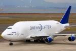 きったんさんが、中部国際空港で撮影したボーイング 747-409(LCF) Dreamlifterの航空フォト(写真)