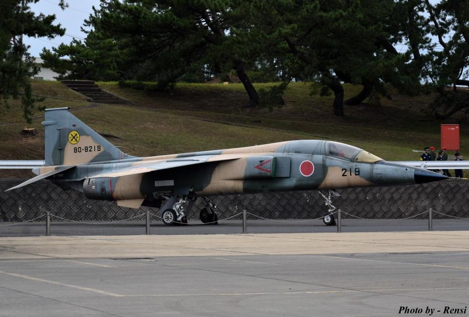 れんしさんの航空自衛隊 Mitsubishi F-1 (80-8219) 航空フォト