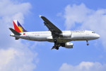 Orange linerさんが、福岡空港で撮影したフィリピン航空 A320-214の航空フォト(写真)