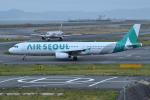Tango-4さんが、関西国際空港で撮影したエアソウル A321-231の航空フォト(写真)
