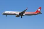 soranchuさんが、北京首都国際空港で撮影した四川航空 A321-271Nの航空フォト(写真)