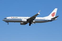 航空フォト:B-1393 中国国際航空 737 MAX 8