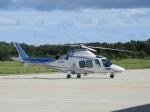おっつんさんが、能登空港で撮影した日本デジタル研究所(JDL) AW109SPの航空フォト(写真)