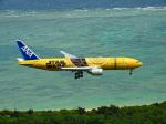 おっつんさんが、新石垣空港で撮影した全日空 777-281/ERの航空フォト(写真)