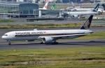 鉄バスさんが、羽田空港で撮影したシンガポール航空 777-312/ERの航空フォト(写真)