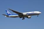 雪虫さんが、新千歳空港で撮影した全日空 777-281の航空フォト(写真)