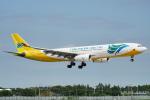 ちゃぽんさんが、成田国際空港で撮影したセブパシフィック航空 A330-343Xの航空フォト(写真)