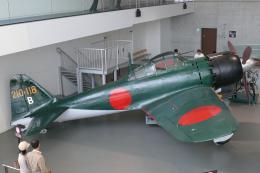 ちゃぽんさんが、大和ミュージアムで撮影した日本海軍 Zero 62/A6M7の航空フォト(写真)