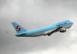 幻想航空 Air Gensouさんが、成田国際空港で撮影した大韓航空 747-4B5の航空フォト(写真)