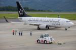 BENKIMAN-ENLさんが、岡山空港で撮影したユナイテッド航空 737-724の航空フォト(写真)