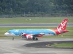 くろぼしさんが、シンガポール・チャンギ国際空港で撮影したエアアジア A320-216の航空フォト(写真)