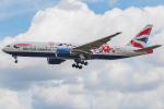 Tomo-Papaさんが、ロンドン・ヒースロー空港で撮影したブリティッシュ・エアウェイズ 777-236/ERの航空フォト(写真)