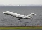 garrettさんが、羽田空港で撮影したスカイサービス・ビジネス・アビエーション BD-700-1A11 Global 5000の航空フォト(写真)