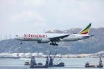 garrettさんが、香港国際空港で撮影したエチオピア航空 777-F6Nの航空フォト(写真)