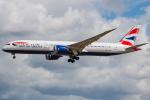 Tomo-Papaさんが、ロンドン・ヒースロー空港で撮影したブリティッシュ・エアウェイズ 787-9の航空フォト(写真)