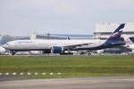 さくらの城南山。さんが、成田国際空港で撮影したアエロフロート・ロシア航空 777-3M0/ERの航空フォト(飛行機 写真・画像)