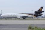 いっとくさんが、関西国際空港で撮影したUPS航空 MD-11Fの航空フォト(写真)