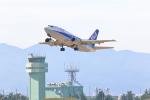 yuu-kiさんが、小松空港で撮影したANAウイングス 737-5L9の航空フォト(写真)