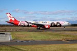 北の熊さんが、新千歳空港で撮影したエアアジア・エックス A330-343Xの航空フォト(飛行機 写真・画像)