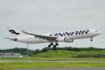 ちゃぽんさんが、成田国際空港で撮影したフィンエアー A330-302Xの航空フォト(飛行機 写真・画像)