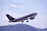LEVEL789さんが、広島空港で撮影したシンガポール航空 A310-324の航空フォト(写真)