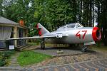 ちゃぽんさんが、ヴァディムザドロシュニー技術博物館で撮影したソビエト空軍 MiG-15UTIの航空フォト(飛行機 写真・画像)