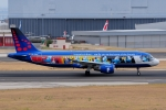 ぼんやりしまちゃんさんが、リスボン・ウンベルト・デルガード空港で撮影したブリュッセル航空 A320-214の航空フォト(写真)