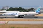ぼんやりしまちゃんさんが、リスボン・ウンベルト・デルガード空港で撮影したユーロアトランティック・エアウェイズ 767-36N/ERの航空フォト(写真)