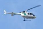 500さんが、自宅上空で撮影したセコインターナショナル 505 Jet Ranger Xの航空フォト(写真)