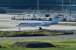 Dojalanaさんが、羽田空港で撮影したアルバ企業所有 G-IV-X Gulfstream G350の航空フォト(飛行機 写真・画像)