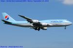 Chofu Spotter Ariaさんが、成田国際空港で撮影した大韓航空 747-8B5の航空フォト(飛行機 写真・画像)