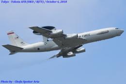 Chofu Spotter Ariaさんが、横田基地で撮影したアメリカ空軍 E-3B Sentry (707-300)の航空フォト(飛行機 写真・画像)