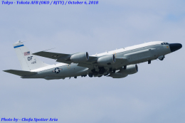 Chofu Spotter Ariaさんが、横田基地で撮影したアメリカ空軍 RC-135W (717-158)の航空フォト(飛行機 写真・画像)
