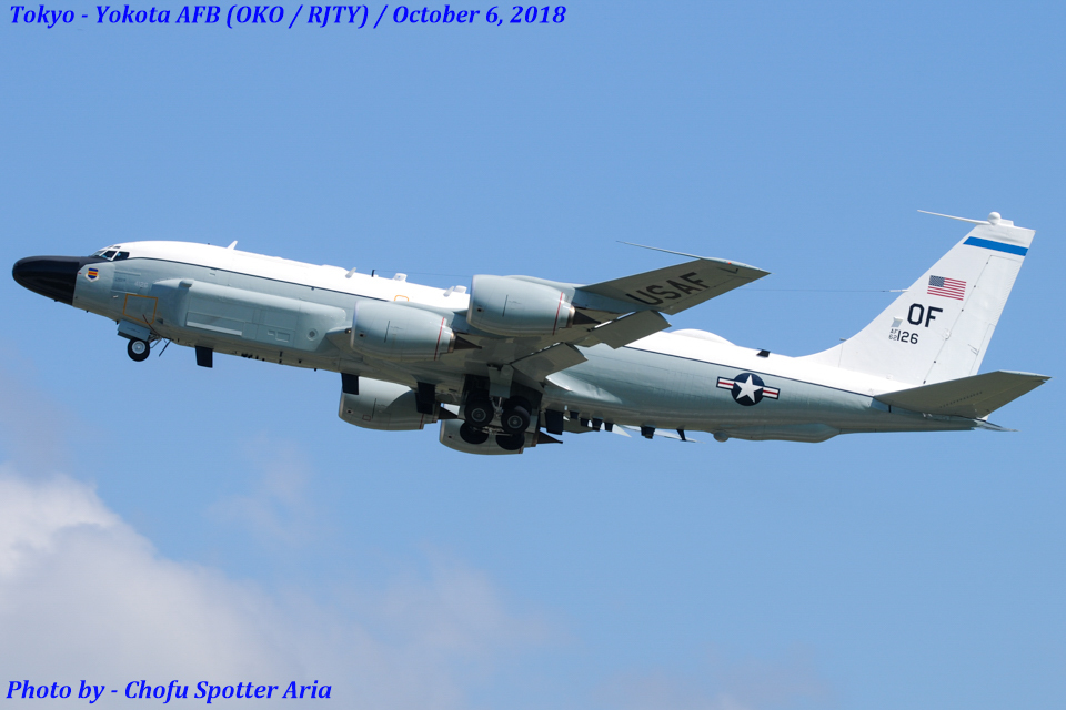 Chofu Spotter Ariaさんのアメリカ空軍 Boeing C-135 Stratolifter (62-4126) 航空フォト