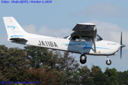Chofu Spotter Ariaさんが、調布飛行場で撮影したジェイ・ディ・エル技研 172S Skyhawk SPの航空フォト(写真)