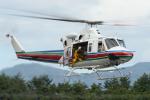 ヘリ神さんが、松本空港で撮影した長野県消防防災航空隊 Bellの航空フォト(写真)