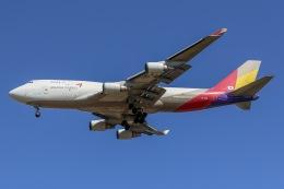 mototripさんが、仁川国際空港で撮影したアシアナ航空 747-446(BDSF)の航空フォト(写真)