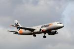 funi9280さんが、新千歳空港で撮影したジェットスター・ジャパン A320-232の航空フォト(飛行機 写真・画像)