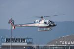 神宮寺ももさんが、高松空港で撮影した四国航空 AS350B Ecureuilの航空フォト(写真)