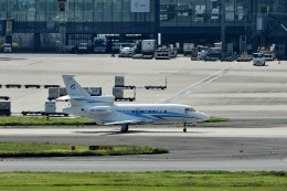 Dojalanaさんが、羽田空港で撮影したガスプロムアビア Falcon 900の航空フォト(飛行機 写真・画像)